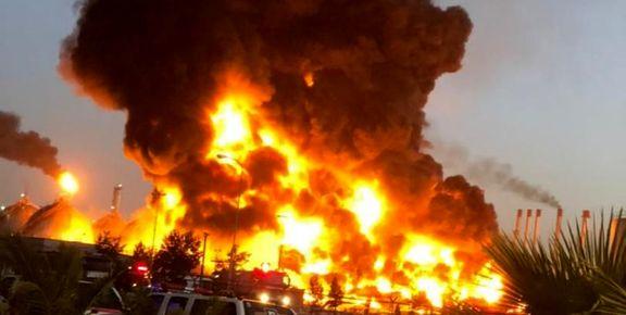 جزئیات حادثه آتشسوزی در پالایشگاه تهران