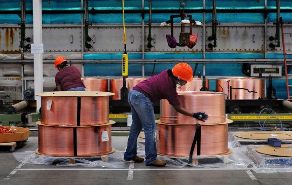 توقف روند افزایشی قیمت مس به دلیل شیوع کووید 19 در چین