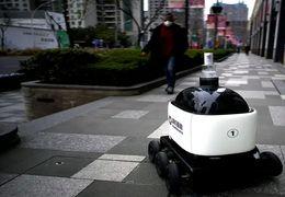 فیلم ربات توزیعکننده مواد ضدعفونیکننده در چین