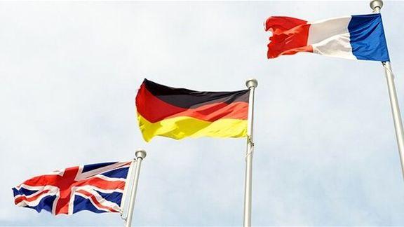 امروز سه کشور فرانسه آلمان و بریتانیا درباره برجام تشکیل جلسه می دهند