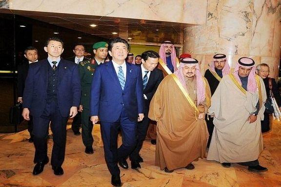 شینزو آبه در ریاض با ملک سلمان دیدار و گفتگو کرد