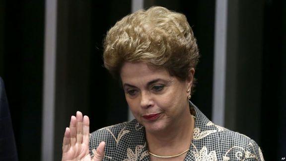 سقوط تاریخی حزب کارگر در برزیل / دیلما روسف از رفتن به مجلس سنا باز ماند