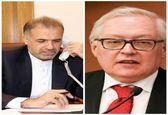ایران و روسیه در رابطه با تصمیمات غیرقانونی آمریکا رایزنی کردند