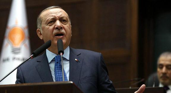 اولین واکنش رسمی اردوغان به سقوط ارزش لیر