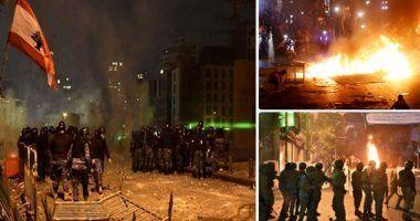 لبنانی ها دوباره به خیابان ها آمدند/اعتراض اینبار علیه دولت جدید