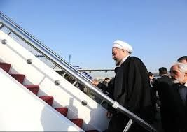 روحانی تهران را به مقصد سوچی ترک کرد