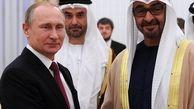 دیدار پوتین  با مقام ابوظبی در امارات