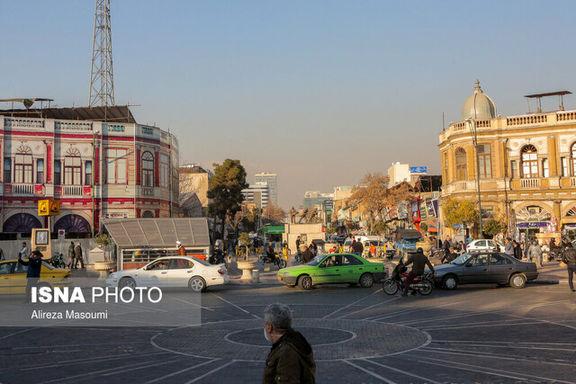 هوا تهران در محدوده سالم قرار دارد