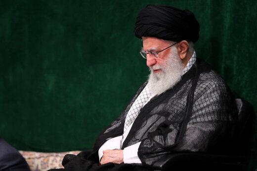 حضور رهبر انقلاب در جمع  هیئتهای دانشجویی در حسینیه امام خمینی(ره)