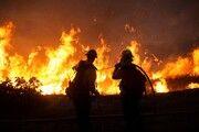 آتشسوزی در کارخانهای در شهر دالاس آمریکا