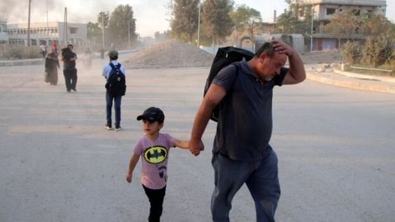 آواره شدن 100 هزار کرد سوری از سرزمین خود