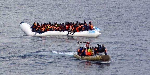 غرق شدن قایق مهاجران در سواحل تونس
