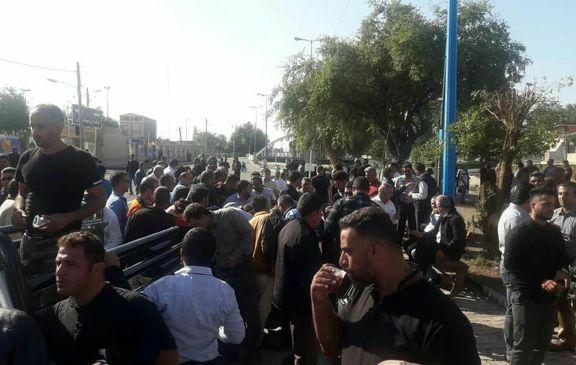بیست و ششمین روز اعتراض کارگران هفته برای بازگشت از خصوصی سازی