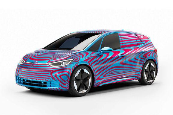 مشخصات خودرو برقی فولکس واگن+ قیمت