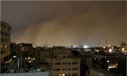 خسارت های وقوع طوفان تهران