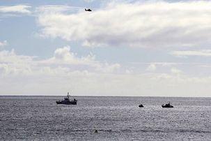 جنگنده شکاری آمریکا در اقیانوس آرام سقوط کرد