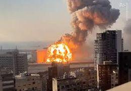 یکی از واضحترین فیلمها از لحظه انفجار در بندر بیروت