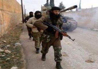رزمایش مشترک گروههای تروریستی با نیروهای آمریکایی