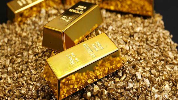 افزایش یک درصدی قیمت طلای جهانی در نخستین روز معاملاتی هفته