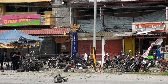 داعش مسئولیت انفجار جنوب فیلیپین را پذیرفت