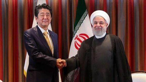 در گفتگوی خصوصی میان رئیس جمهور ایران و نخست وزیر ژاپن چه گذشت؟