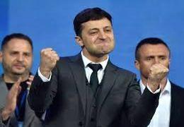 کمدین قدیمی رئیس جمهور جدید اوکراین شد/ فیلم اجرای استنداپ کمدی توسط زلنسکی رئیس جمهور جدید اوکراین در برنامه زنده