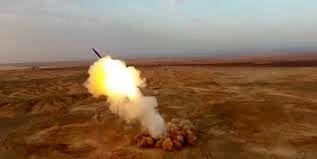 فیلم شلیک موشکهای بالستیک سپاه از اعماق زمین