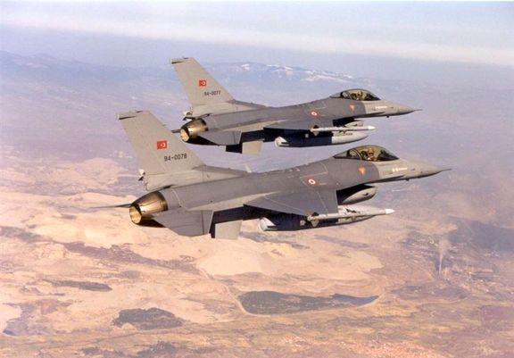 ترکیه شمال عراق را بمباران کرد