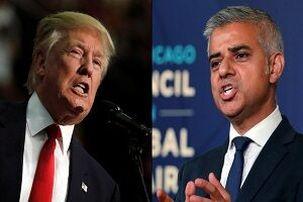 دونالد ترامپ خواستار برکناری صادق خان شهردار لندن شد