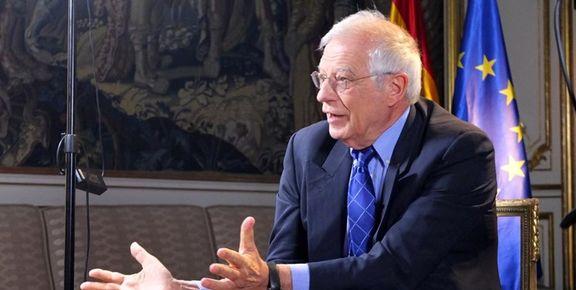 بورل: امیرعبداللهیان به من اطمینان داد که تهران به میز مذاکرات وین باز خواهد گشت