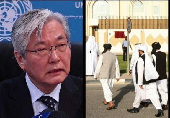 گفتوگوی نماینده سازمان ملل با معاون سیاسی رهبر طالبان درباره روند صلح افغانستان