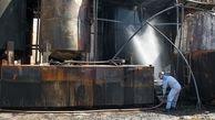 وقوع آتشسوزی در انبار ابزار و یراق در میدان حسن آباد تهران/ آتش به بافت تاریخی سرایت کرد
