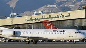 بازگشت ترافیک پروازی به فرودگاه مهرآباد