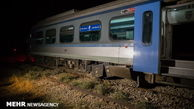 جزئیات خروج قطار بندرعباس - تهران از ریل
