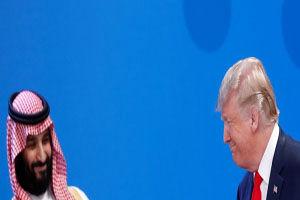 ترامپ دیدار با بن سلمان را انکار کرد