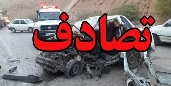 9 کشته و زخمی در اثر برخورد سه خودرو در محور قاین به بیرجند