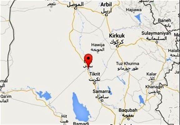 نقشه داعش برای هدف قرار دادن شهرستان بیجی ناکام ماند