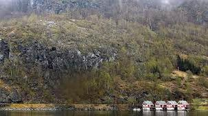 رانش وحشتناک زمین در شمال نروژ  + فیلم