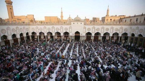 مصر هرکونه تجمع در مکان های مقدس و مساجد را ممنوع اعلام کرد