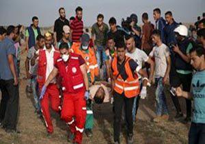 حمله صهبونیست ها به نوارغزه تلفات جانی گرفت
