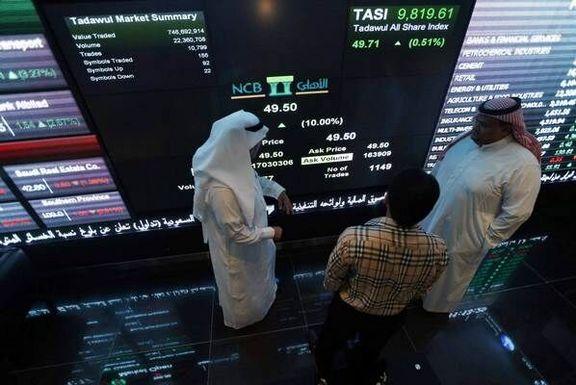 زیان هنگفت 28 درصدی بورس عربستان در نتیجه تحولات منطقه