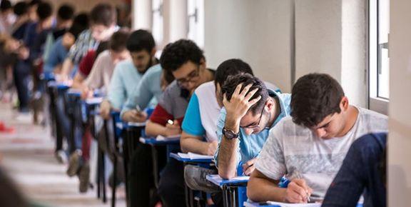 برنامه امتحانات نهایی دانش آموزان تغییر یافت