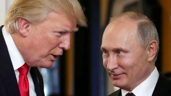 ترامپ در تماس با پوتین برخی مشاوران خود را احمق خطاب کرد