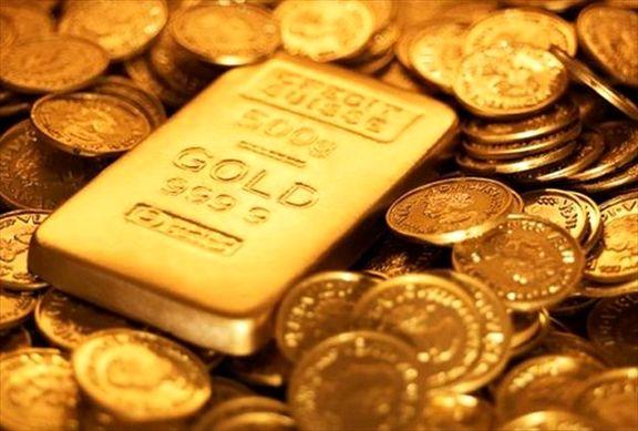 هر گرم طلای ۱۸ عیار ۵۱۷ هزار تومان / سکه  ۳۵ هزار تومان گران شد