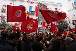 اعتصاب سراسری در تونس خدمات عمومی  این کشور را متوقف کرد