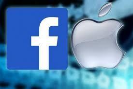 اپل بر ضد فیسبوک بلند شد