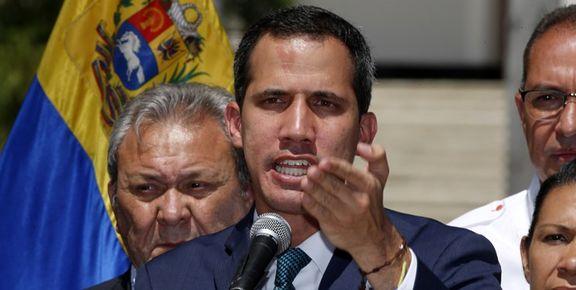 رئیسجمهور خودخوانده ونزوئلا مداخله نظامی آمریکا را رد نکرد