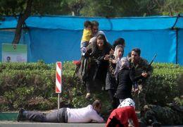 فیلم داعش درباره حمله تروریستی به رژه نظامیان در اهواز