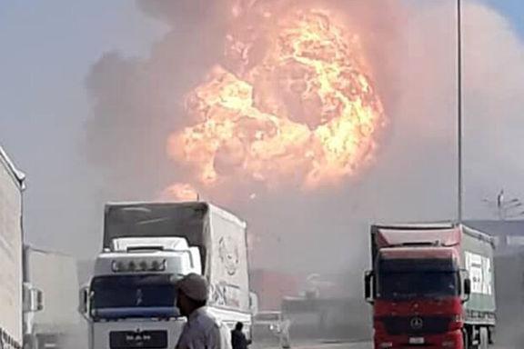 علت آتش سوزی در گمرک دوغارون اعلام شد