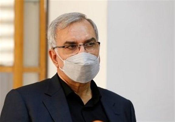 وزیر بهداشت: تا امروز ۵۰ درصد جمعیت هدف کشور واکسن زده اند
